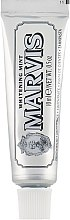 Düfte, Parfümerie und Kosmetik Aufhellende Zahnpasta mit Minze - Marvis Whitening Mint Toothpaste (Mini)
