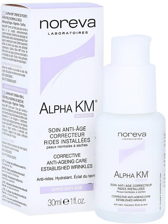 Korrigierende Anti-Aging Gesichtscreme für normale bis trockene Haut - Noreva Laboratoires Alpha KM Corrective Anti-Ageing Treatment Normal To Dry Skins — Bild N4