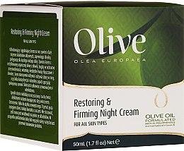 Düfte, Parfümerie und Kosmetik Regenerierende und straffende Nachtcreme mit Olivenöl - Frulatte Olive Restoring Firming Night Cream