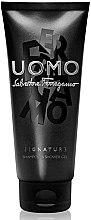Düfte, Parfümerie und Kosmetik Salvatore Ferragamo Uomo Signature - Shampoo & Duschgel