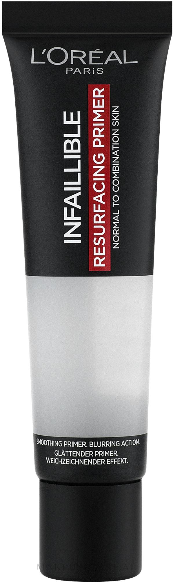 Make-up Base - L'Oreal Paris Infaillible Primer Base — Bild Transparent