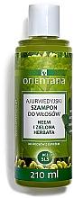 Düfte, Parfümerie und Kosmetik Reparierendes und pflegendes Anti-Schuppen Shampoo - Orientana Ayurvedic Shampoo Neem & Green Tea