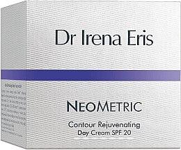 Düfte, Parfümerie und Kosmetik Verjüngende Tagescreme für das Gesicht SPF 20 - Dr Irena Eris Neometric Contour Rejuvenating Day Cream SPF 20