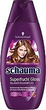 Düfte, Parfümerie und Kosmetik Pflegendes Shampoo mit Litschi- und Nonibeere-Extrakten für glanzloses, stumpfes Haar - Schauma Superfrucht Gloss
