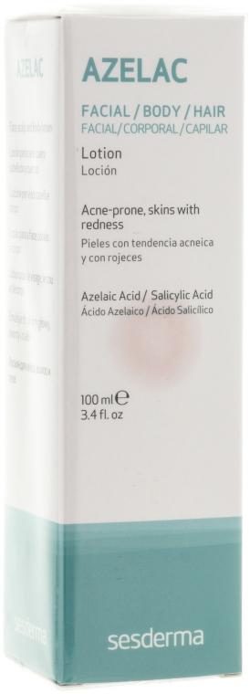 Lotion für Gesicht, Körper und Haare - SesDerma Laboratories Azelac Lotion — Bild N1