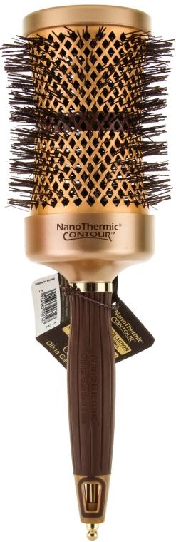 Rundbürste 62 mm - Olivia Garden Nano Thermic Ceramic + Ion Thermic Contour Thermal d 62 — Bild N1