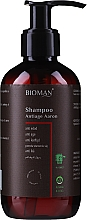 Düfte, Parfümerie und Kosmetik Anti-Aging Shampoo mit Ringelblumenextrakt - BioMAN Aaron Anti-Age Shampoo