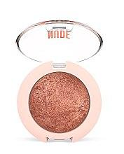 Düfte, Parfümerie und Kosmetik Gebackener Perlenlidschatten - Golden Rose Nude Look Eyeshadow
