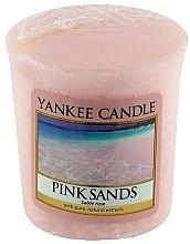 """Düfte, Parfümerie und Kosmetik Yankee Candle Pink Sands - Duftkerze mit natürlichen Extrakten """"Pink Sands"""""""