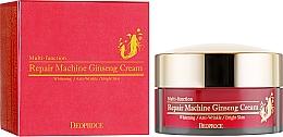 Düfte, Parfümerie und Kosmetik Anti-Falten Gesichtscreme mit Ginseng - Deoproce Repair Machine Ginseng Cream