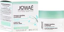 Düfte, Parfümerie und Kosmetik Mineralmaske für das Gesicht mit antioxidativen Lumiphenolen und weißem Tee - Jowae Masque Clarifying Mineral Mask
