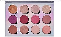 Düfte, Parfümerie und Kosmetik Lidschattenpalette - Pur Extreme Visionary 12-Piece Magnetic Eyeshadow Palette