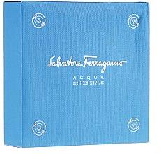 Düfte, Parfümerie und Kosmetik Salvatore Ferragamo Acqua Essenziale - Duftset (Eau de Toilette 30ml + Shampoo & Duschgel 50ml)