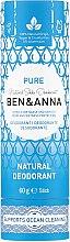 Düfte, Parfümerie und Kosmetik Natürlicher Soda Deo-Stick Pure - Ben & Anna Pure Natural Soda Deodorant Paper Tube