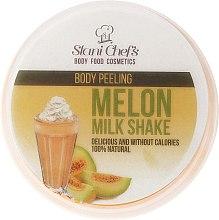 Düfte, Parfümerie und Kosmetik Nährendes Körperpeeling auf Meersalzbasis mit Melonen-Milchshake-Duft - Stani Chef's Melon Milk Shake Body Peeling