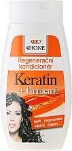 Düfte, Parfümerie und Kosmetik Regenerierende Haarspülung mit Keratin und Panthenol - Bione Cosmetics Keratin + Panthenol Regenerative Conditioner