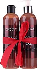 Düfte, Parfümerie und Kosmetik Körperpflegeset - BingoSpa Chocolate (Duschgel 300ml + Flüssigseife mit Schokolade 300ml)