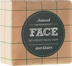 Düfte, Parfümerie und Kosmetik Tief feuchtigkeitsspendende Naturseife für Gesicht - Klairs Rich Moist Facial Soap