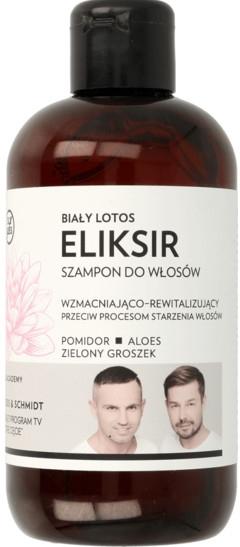 Stärkendes und regenerierendes Elixier-Shampoo mit weißem Lotus - WS Academy