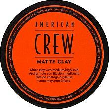 Düfte, Parfümerie und Kosmetik Mattierende Tonerde - American Crew Matte Clay