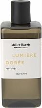 Düfte, Parfümerie und Kosmetik Feuchtigkeitsspendendes und beruhigendes Duschgel mit Vitamin E und Kokosnussextrakt - Miller Harris Lumiere Doree