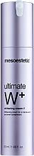 Düfte, Parfümerie und Kosmetik Aufhellende Gesichtscreme gegen Pigmentflecken für einen ebenmäßigen Teint - Mesoestetic Ultimate W+ Whitening Cream