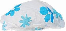 Düfte, Parfümerie und Kosmetik Duschhaube 9298 weiß-blaue Blumen - Donegal Shower Cap