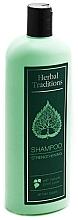 Düfte, Parfümerie und Kosmetik Stärkendes Shampoo mit natürlichem Birkensaft - Herbal Traditions Shampoo Strengthening With Natural Birch Juice