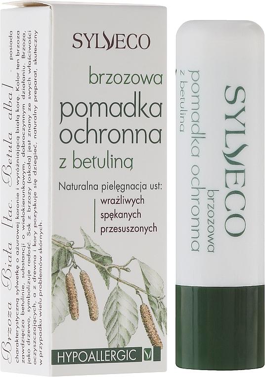Birken-Lippenbalsam mit Betulin gegen Frost, Wind und Sonnenstrahlen - Sylveco