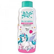 Düfte, Parfümerie und Kosmetik Bade- und Duschgel für Kinder mit Walderdbeerduft - Chlapu Chlap Bath & Shower Gel