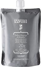 Düfte, Parfümerie und Kosmetik Cremige Entwicklerlotion 6% - Alfaparf Precious Nature Extra Creamy Activator 20 Volume (Doypack)