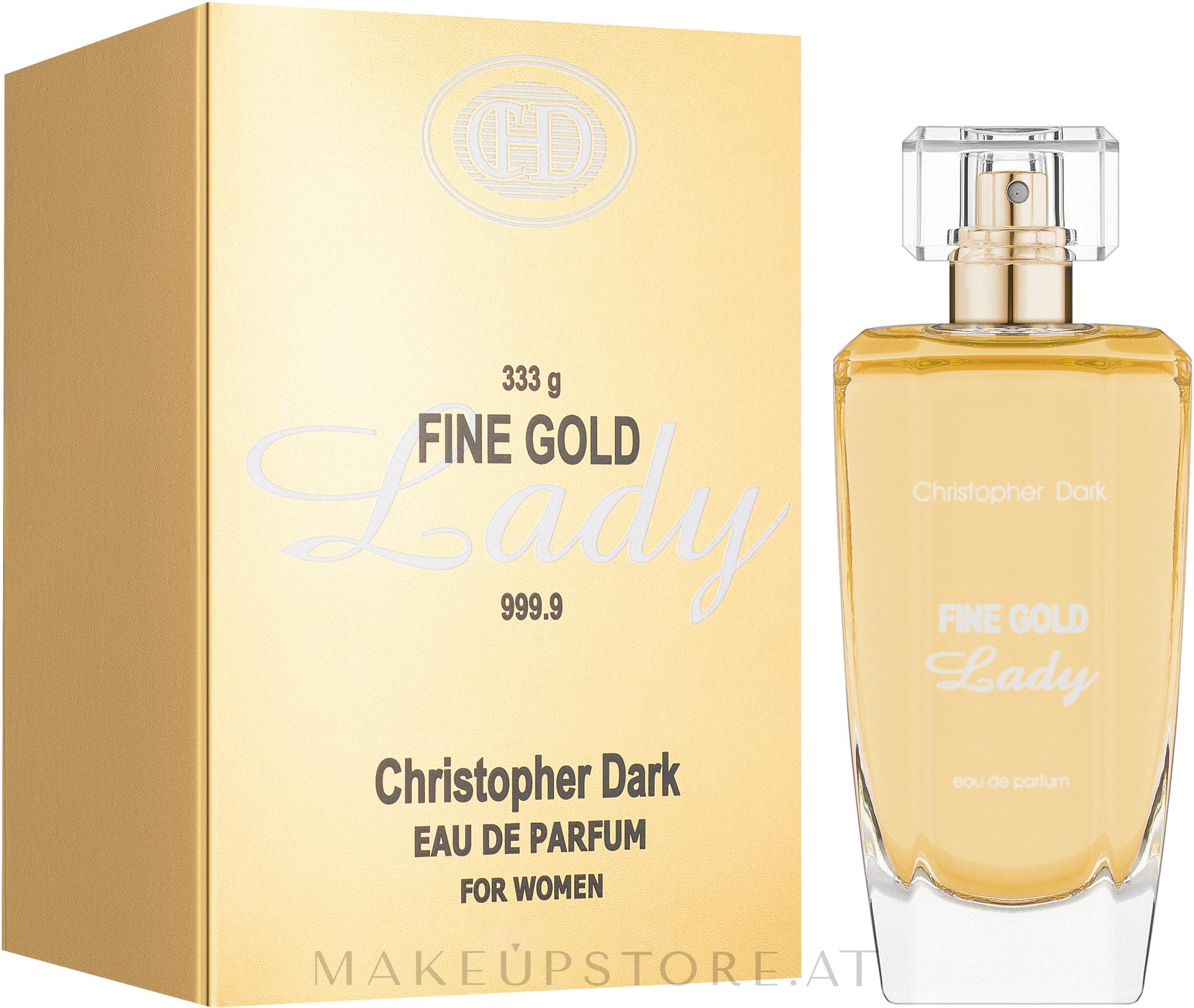 Christopher Dark Fine Gold Lady - Eau de Parfum — Bild 100 ml