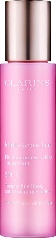 Antioxidative Tageslotion für alle Hauttypen - Clarins Multi-Active Antioxidant SPF15 Day Lotion — Bild N1