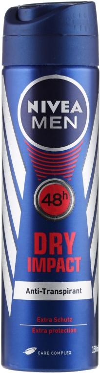 Deospray Antitranspirant - Nivea Men Dry Impact Deo Spray