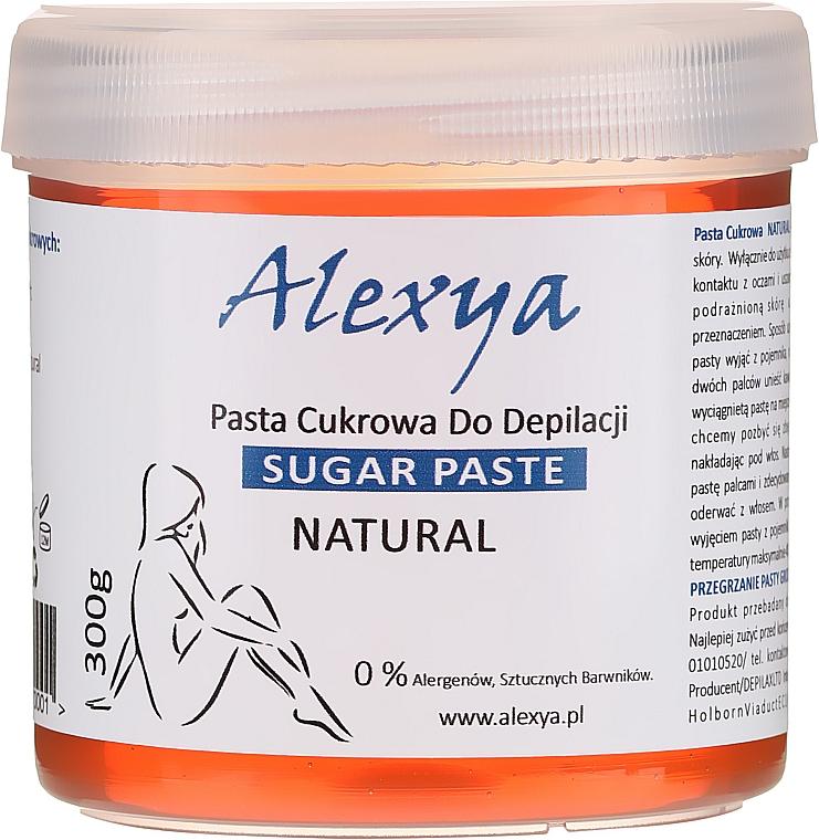 Natürliche Zucker-Enthaarungspaste - Alexya Sugar Paste For Depilation Natural
