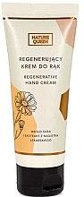 Düfte, Parfümerie und Kosmetik Regenerierende Handcreme mit Scheabutter und Ringelblumenextrakt - Nature Queen