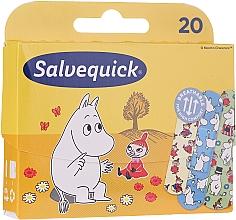 Düfte, Parfümerie und Kosmetik Flefibles, robustes Pflaster für aktive Kinder - Salvequick Moominki