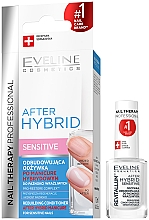 Düfte, Parfümerie und Kosmetik Pflegende Nagelplattenschutz - Eveline Cosmetics After Hybrid Rebuilding Conditioner