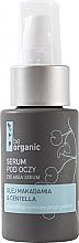 Düfte, Parfümerie und Kosmetik Augenserum mit Macadamiaöl und Wassernabel - Be Organic Eye Area Serum