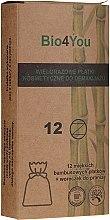 Düfte, Parfümerie und Kosmetik Bio4You Beauty Set - Gesichtspflegeset (Bambuspads zum Abschminken 12St. + Waschbeutel 1St.)