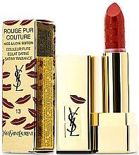 Düfte, Parfümerie und Kosmetik Lippenstift - Yves Saint Laurent Rouge Pur Couture Kiss & Love Edition