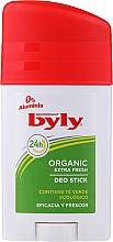 Düfte, Parfümerie und Kosmetik Deostick - Byly Organic Extra Fresh 48h Deodorant Stick
