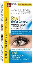 Düfte, Parfümerie und Kosmetik 8in1 Wimpernserum zum Wachstum - Eveline Cosmetics Eyelash Serum Total Action 8in1