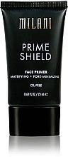 Düfte, Parfümerie und Kosmetik Mattierende Make-Up Base - Milani Prime Shield Face Primer Mattifying + Pore-minimizing