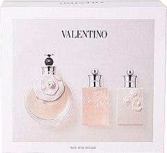 Düfte, Parfümerie und Kosmetik Valentino Valentina - Duftset (Eau de Toilette/80ml + Duschgel/50ml + Körperlotion/50ml)