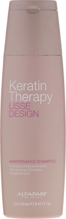 Shampoo mit Keratin - Alfaparf Lisse Design Keratin Therapy Maintenance Shampoo