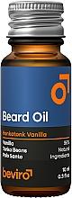 Düfte, Parfümerie und Kosmetik Bartöl mit Vanille - Beviro Beard Oil Honkatonk Vanilla
