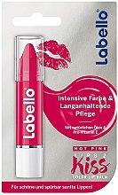 Düfte, Parfümerie und Kosmetik Feuchtigkeitsspendender Lippenbalsam - Labello Crayon Hot Pink Caring Lip Balm