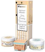 Düfte, Parfümerie und Kosmetik Körperpflegeset - Nacomi Orange Sorbet (Körperpeeling 125g+Gesichts- und Lippenpeeling 80g+Körperöl 100g)