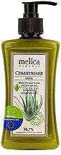 Düfte, Parfümerie und Kosmetik Haarspülung für mehr Glanz mit Weizenproteine und Aloe-Extrakt - Melica Organic Shine Conditioner